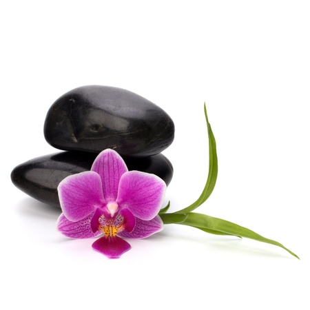 Zen pebbles balance. Spa and healthcare concept. Stock Photo - 13191341