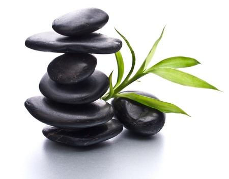 Zen pebbles balance. Spa and healthcare concept. Stock Photo - 13206077