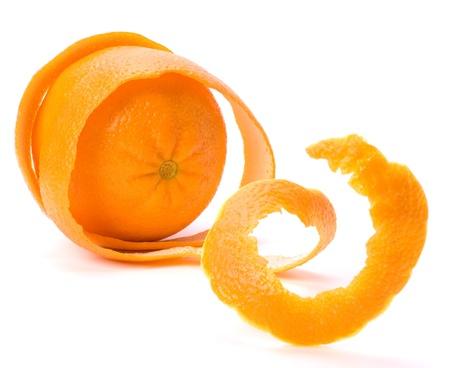 sauvegarde: Orange avec couche double peau isol� sur fond blanc. Sauvegarde et le concept de s�curit�.