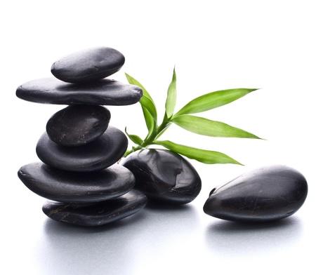 wellness environment: Zen pebbles balance. Spa and healthcare concept.