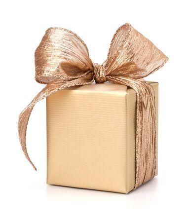 Luxurious gift isolated on white background Stock Photo