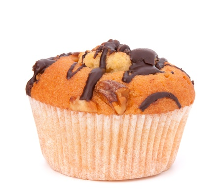 muffin isolated on white background Stock Photo - 13192759