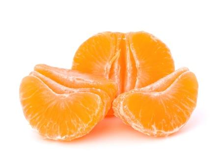 Orange mandarin or tangerine fruit isolated on white background Stock Photo - 13192092