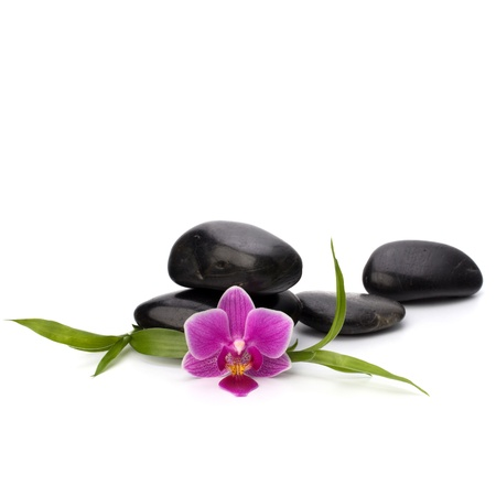 Zen pebbles balance. Spa and healthcare concept. Stock Photo - 13191396