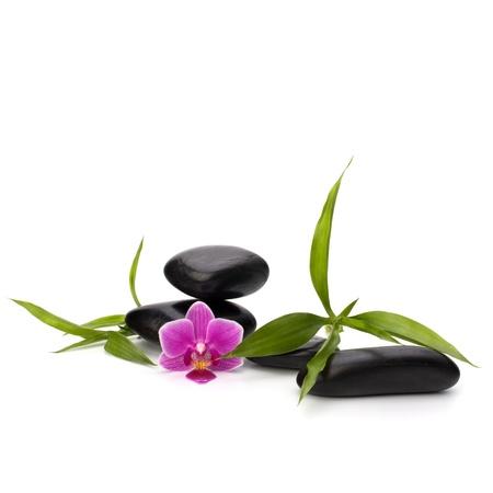 Zen pebbles balance. Spa and healthcare concept. Stock Photo - 13189190