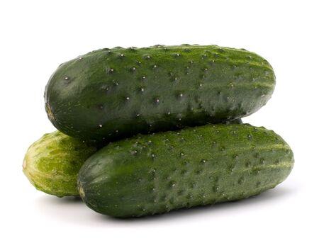 Cucumber vegetable isolated on white background Stock Photo - 13200997
