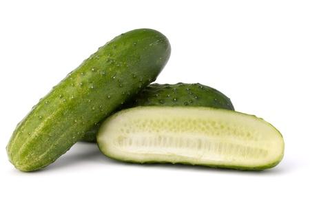 Cucumber vegetable isolated on white background Stock Photo - 13184961