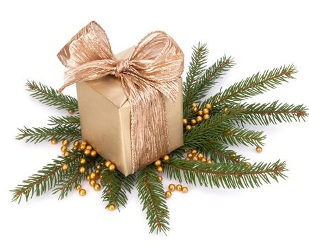 Luxurious gift isolated on white background Stock Photo - 13331730