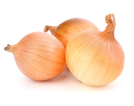 onion isolated: Onion  isolated on white background Stock Photo