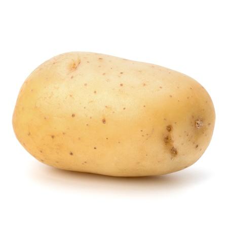 New potato isolated on white background close up Stock Photo - 13332471