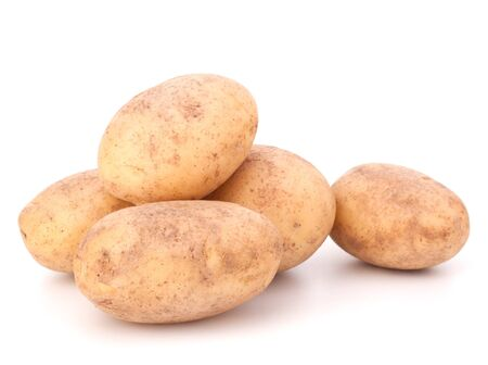 New potato isolated on white background cutout Stock Photo - 13721916