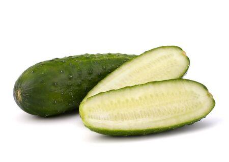 Cucumber vegetable isolated on white background Stock Photo - 13721956