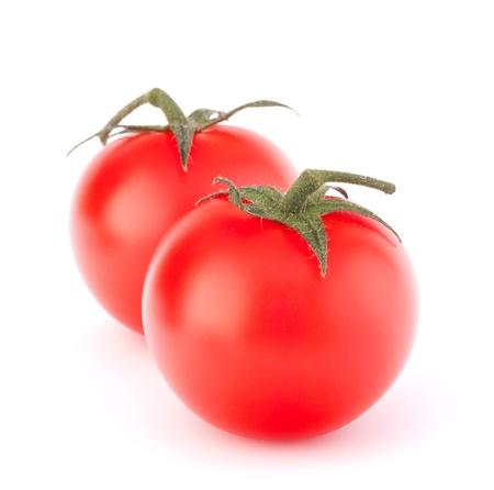 Cherry tomato isolated on white background cutout photo