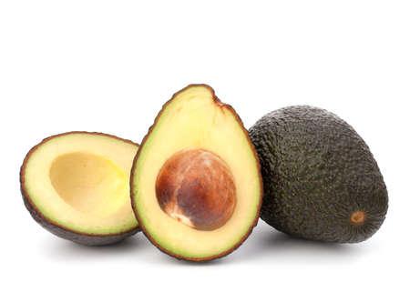 Avocado vegetable isolated on white background Stock Photo - 16040853