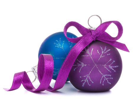 Christmas ball isolated on white background cutout photo