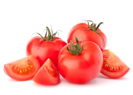Tomato vegetables pile isolated on white background cutout Reklamní fotografie