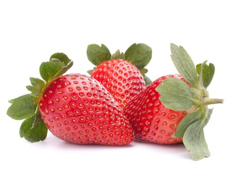 Strawberry isolated on white background cutout photo