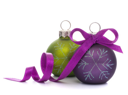 christmas religious: Christmas ball isolated on white background cutout