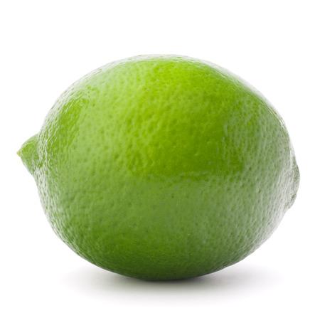 Citrus limoen fruit op een witte achtergrond knipsel