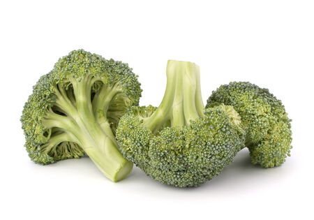 brocoli: Broccoli vegetable isolated on white background