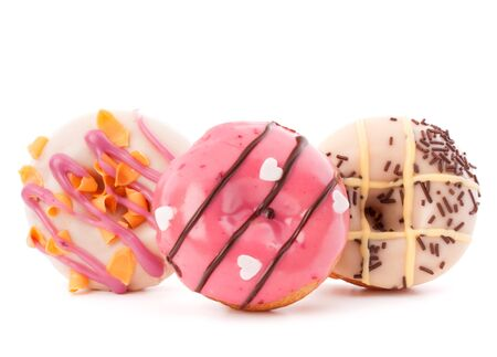 doughnuts or donuts isolated on white background cutout photo
