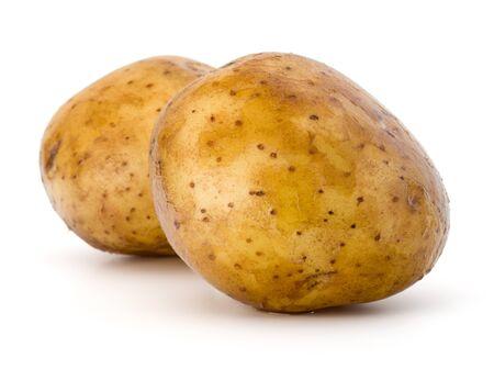 新しいジャガイモ塊茎ホワイト バック グラウンド素材に分離 写真素材 - 56130493
