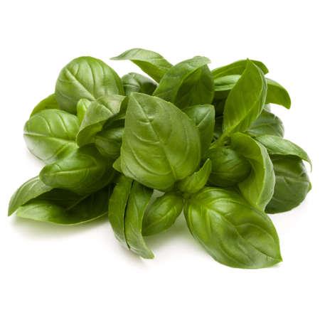 Doux basilic herbes tas tas isolé sur fond blanc Banque d'images - 88716199
