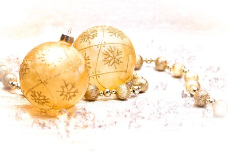 Christmas background with copy space. Festive greeting card.