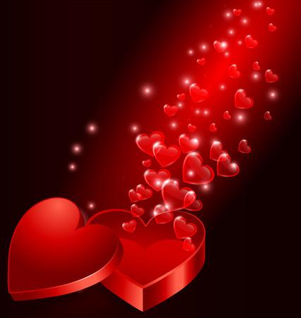 Valentine's background Çizim