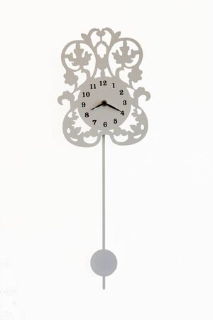The elegant and graceful pendulum clock Stock Photo - 10044259