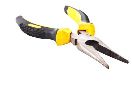 Plier isolated on white background  photo