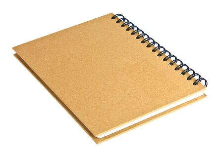 recycled paper notebook photo