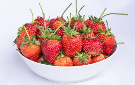 res: Fresh res strawberry