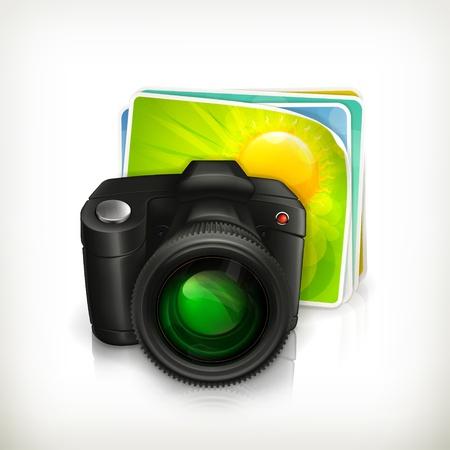 reflex camera: Photos and camera illustration icon