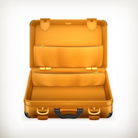 maleta: Maleta abierta