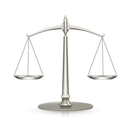 gewicht skala: Waage, das Symbol Illustration