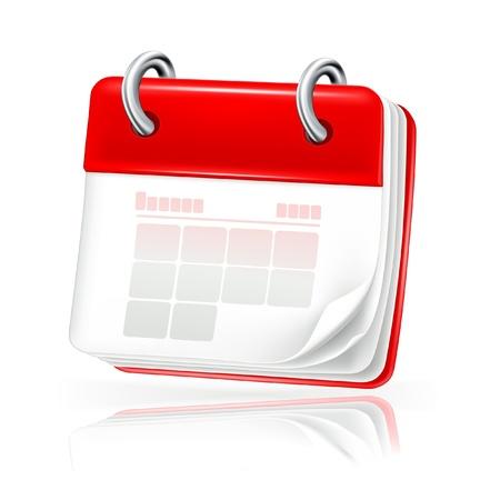 icono de calendario: Calendario, icono Vectores