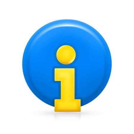 Information Icon Stock Vector - 13695341