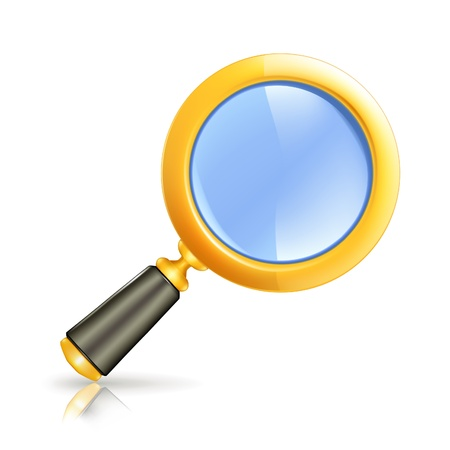 Magnifying lens Stock Vector - 13695419