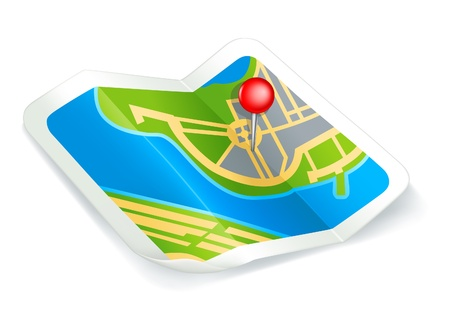 navigation map: Map, icon