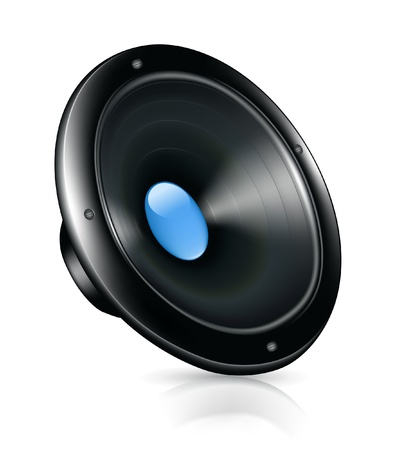 loud speaker: Speaker, icon Illustration