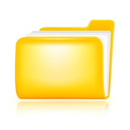 Folder icon Stock Vector - 13695628