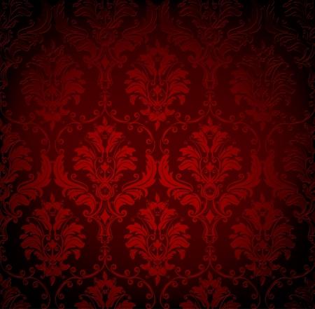 Naadloze behang patroon Vector Illustratie