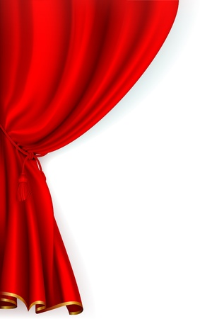 theater curtain: Red Curtain
