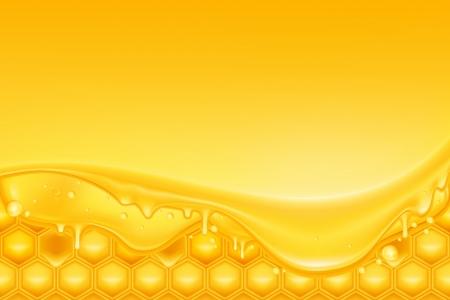 abeilles: Miel de fond