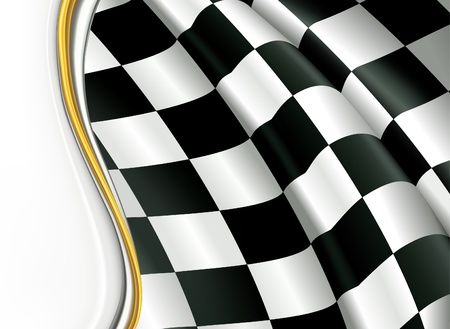 formula one: Checkered Background