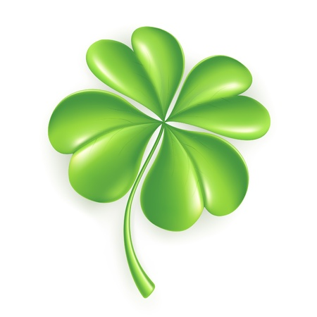 Lucky Clover Stock Vector - 13695506