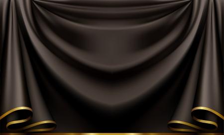 trim: Luxury black background