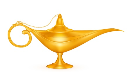 aladdin: Oil lamp Illustration