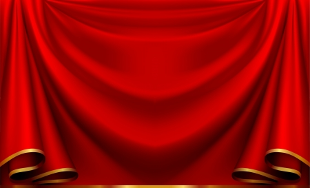 red velvet: Red curtain